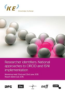 Knowledge Exchange report by Nicky Ferguson on national approaches to ORCID and ISNI implementation